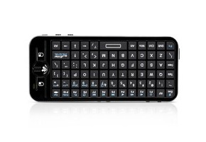 iPazzport Fly Air Mouse Mini Wireless Keyboard with IR Learning Remote